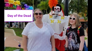 Carnival Cruise Day 3 ♥ Downtown Cozumel & Cemetery DAY OF THE DEAD [vlog ep9]