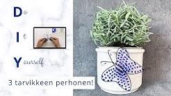 DIY – perhonen | Askartelu rautalangasta ja helmistä | Keväiset askartelut