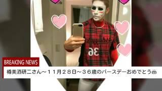今年も~研二さんのバースデーに動画を作ってみたよぉd(^-^)ケツギャの...
