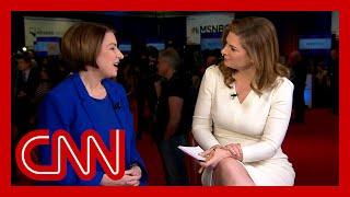 Klobuchar: There weren't enough jabs at Trump during the debate