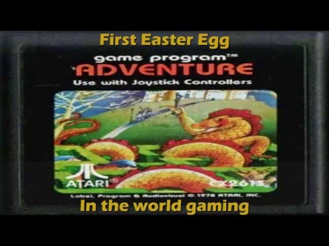 First Easter Egg in the world gaming (Atari 2600) - Adventure