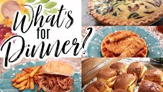 WHAT'S FOR DINNER | EASY DINNER IDEAS & MEAL PLAN INSPIRATION| Cook Clean And Repeat