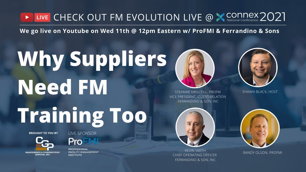 FM Evolution: Why Suppliers Need Facility Maintenance Training Too