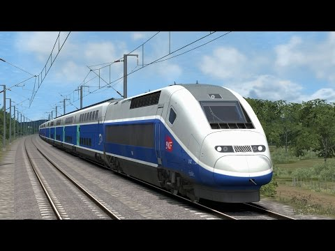 Let´s Play Train Simulator 2016 #16 / TGV 6122 nach Paris Gare de Lyon