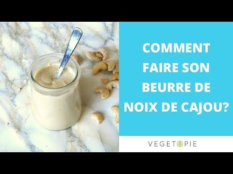 faire-du-beurre-de-noix-de-cajou-│cru---vegan---healthy-!-♡-recette-facile-♡-│-vegetopie
