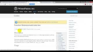 Wordpress Meta Box Bangla Tutorial Part One