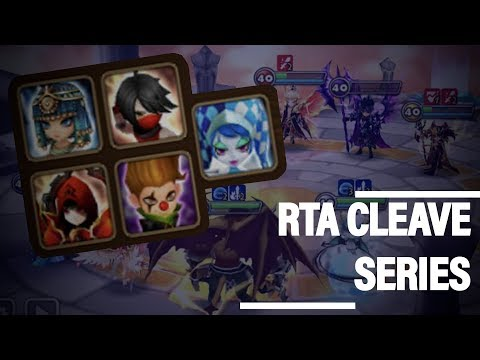 LEARN TO CLEAVE RTA  | CLEAVE CITY NEW SERIES! - Summoners War