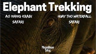 Elephant Trekking Krabi |Ao Nang Krabi Safari | Huay Tho Waterfall Safari