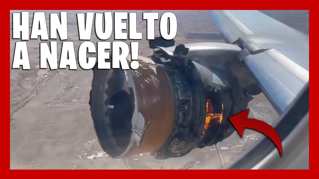 ⚠️ BOEING 777 Pierde Partes del MOTOR en Pleno VUELO en DENVER ▶(Todas LAS IMAGENES)