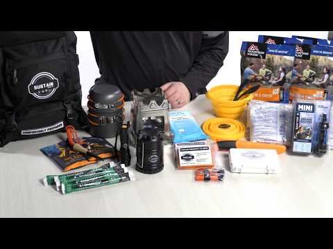 Sustain Supply Co – Comfort2 – 72 Hour Survival Kit