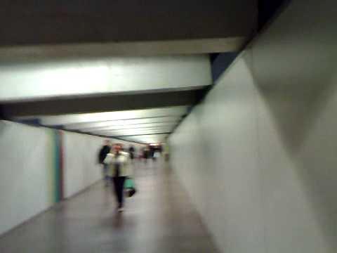 Barcelona metro, transfering in station Passeig de Gracia