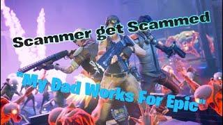 Fortnite Scammer get scammed skit endorail=Fake