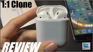 REVIEW: i500 TWS - BEST Airpods 2 Clone - 1:1 (Qi Charging, H1 Chip)!