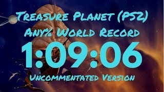 "Treasure Planet (PS2) ""Any%"" speedrun in 1:09:06 [WR]"