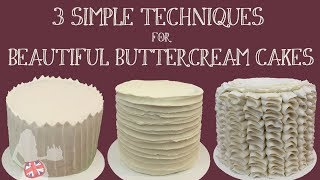 cake decorating tutorial