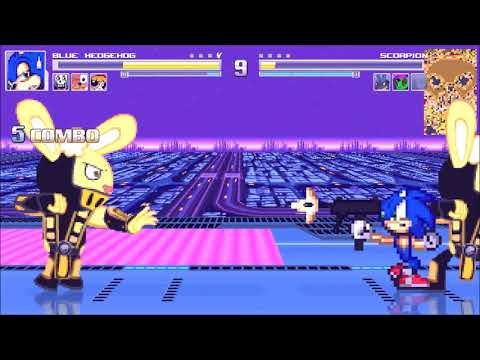 Mugen: Bashing bad characters I found on the mugen archive