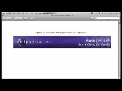 Developing OSGi-enabled Java EE Applications Using Eclipse