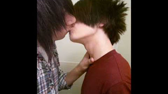 Hot emo guys making out