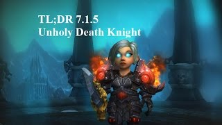 TL;DR Unholy Death Knight guide for beginners 7.2 / 7.1.5
