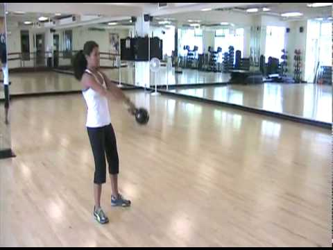 Russian Swing Kettlebell Exercise | Seattle Athletic Club Downtown