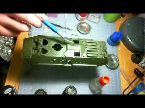 Zvezda 1/35 BTR-80a plus Diorama Tutorial 1/5