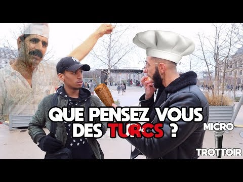 Ce que les gens pensent des Turcs ? - Micro Trottoir - La MeuteTV