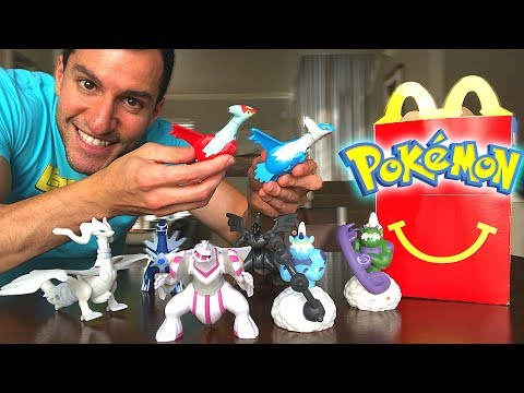 Opening ALL McDonald's NEW POKEMON TOYS 2018 (New Pokemon Cards!)