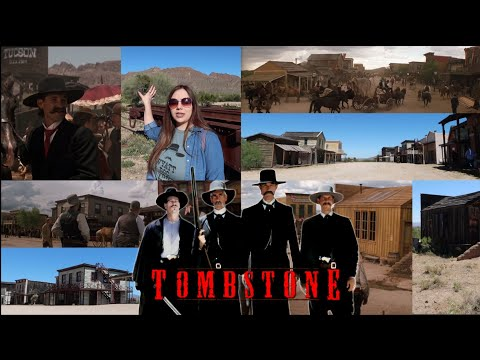 Tombstone FILMING LOCATIONS - Old Tucson Studios, Mescal, and Vlog Outtakes.