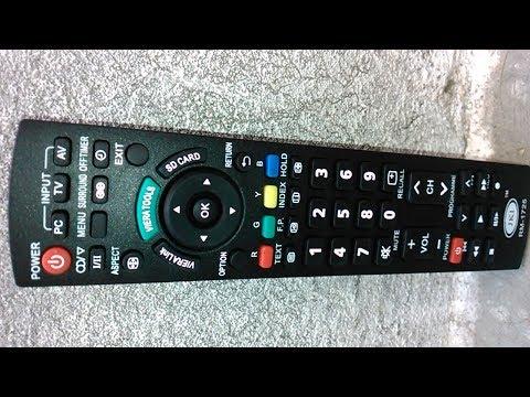 Panasonic Viera TV Remote Universal - Viera Remote N2QAYB000823