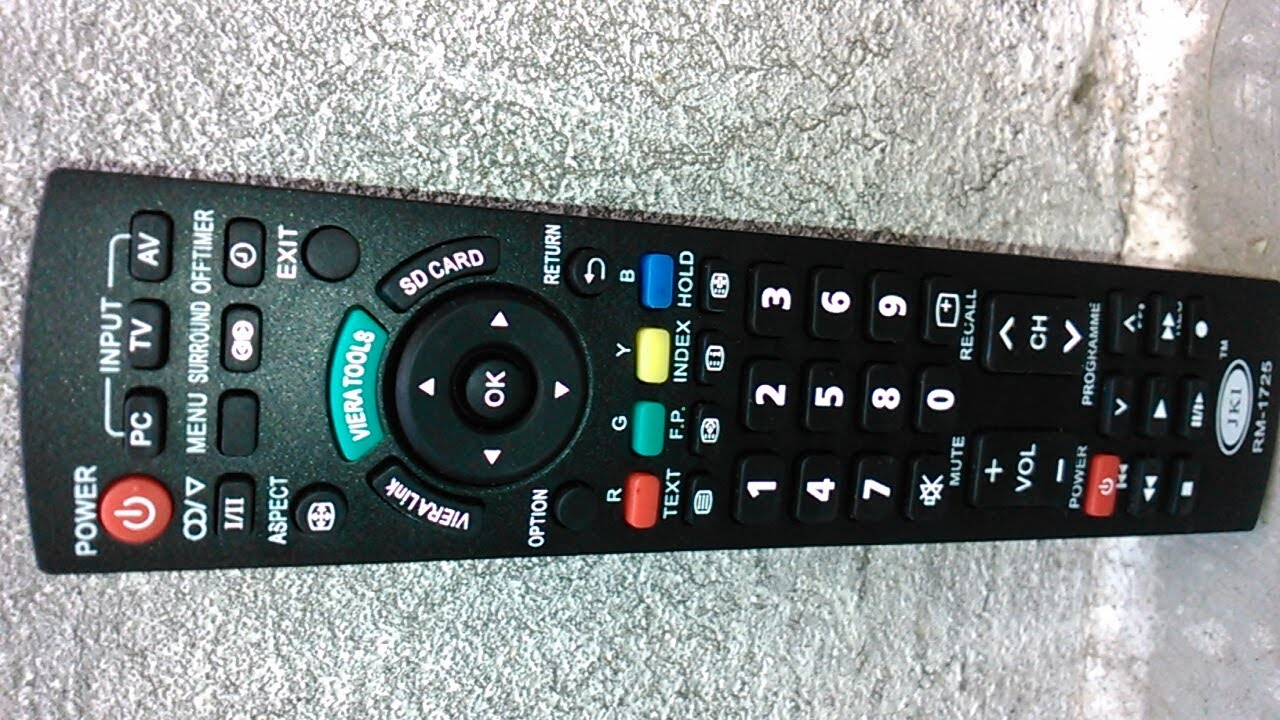 panasonic tv controller. panasonic viera tv remote universal - n2qayb000823 tv controller