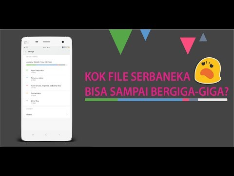 Apa itu File Serbaneka dan Bagaimana Cara Menghapus File Lainnya di Smartphone Xiaomi?