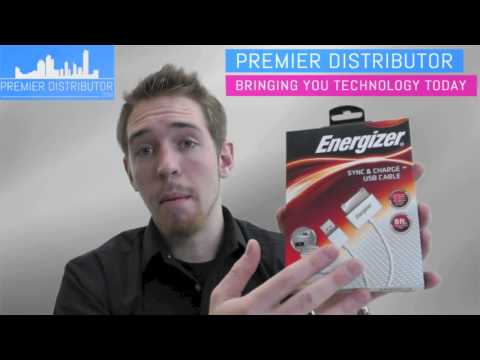 Premier Distributor - Energizer Apple Sync And Charge USB Cable