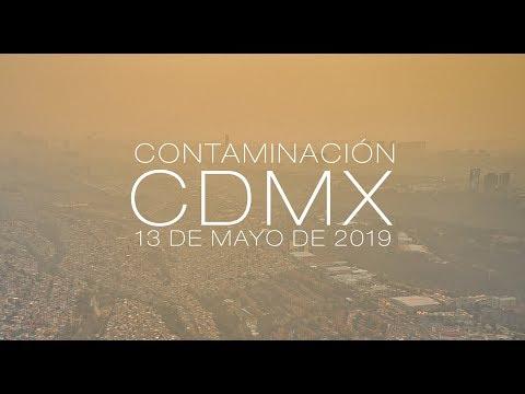 Contaminación en la CDMX - Mayo de 2019