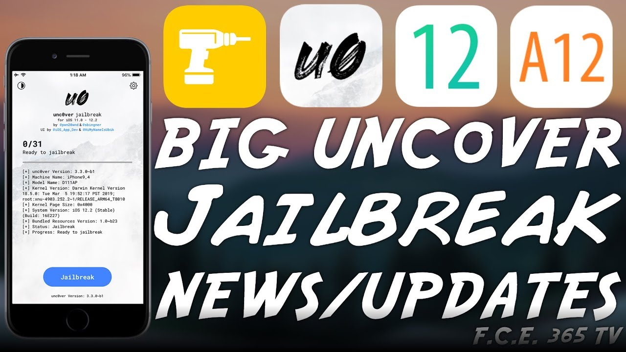 Big Unc0ver JAILBREAK NEWS / UPDATES For Substitute