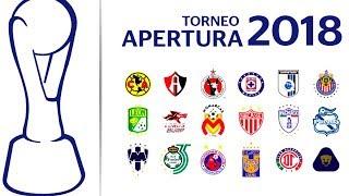 Calendario completo de la liga mx  para el torneo apertura 2018