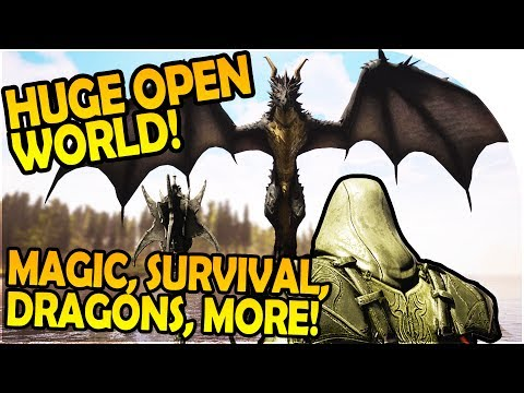 CITADEL: FORGED WITH FIRE – SURVIVAL, MAGIC, DRAGON, MORE – Citadel Forged With Fire Gameplay Part 1
