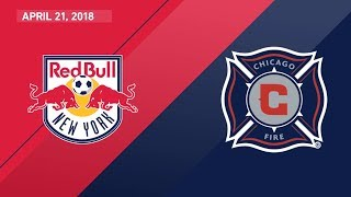 HIGHLIGHTS: New York Red Bulls vs. Chicago Fire | April 21, 2018