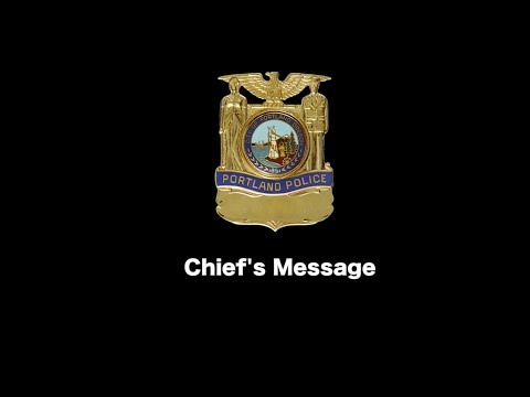 A Message from Chief Reese
