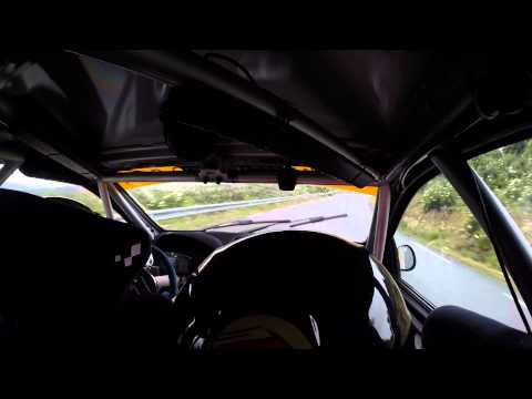 Rallysprint de San Segundo 2015 Renault Clio R3 -Daniel Ron - J. L. Gijón