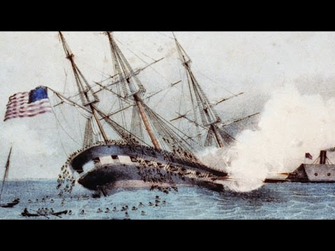 The Monitor, The Merrimack, And The Civil War Sea Battle That Changed History