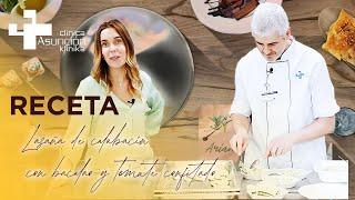 Cocinando con Ariane y Karlos | RECETA: Lasaña de calabacín rellena de bacalao y tomate confitado