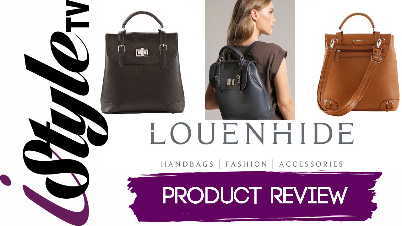 0fe2f718d9f2 iStyle TV REVIEWS LOUENHIDE - DESIGNER HANDBAGS - FASHION - ACCESSORIES - -  YouTube