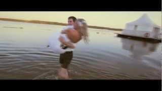 Свадебное видео (клип) невеста в речке. Саратов 2012