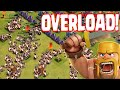 Clash Of Clans - INSANE BARBS ONLY RAID!!! GUYS ONLY TROOPS!!! (Protect the king )