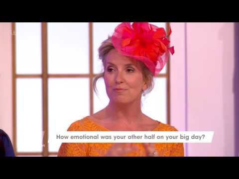 Penny Lancaster On Rod Stewart's Reaction On Their Wedding Day  Loose Women