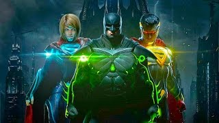 INJUSTICE 2 - Full Movie in Latin Spanish - PS4 [1080p]