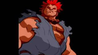 Marvel Super Heroes Vs Street Fighter-Theme of Akuma Video
