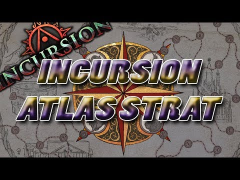 Incursion Atlas Strategy! Leaguestart!