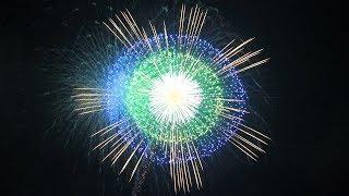 【4K】2017 桑名水郷花火大会 NTN超特大仕掛 花火シーンのみ抜粋