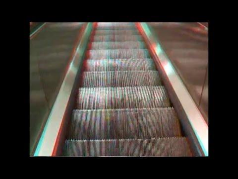 INDUSTRIAL LATE NIGHT NYC 3D ESCALATOR FILM